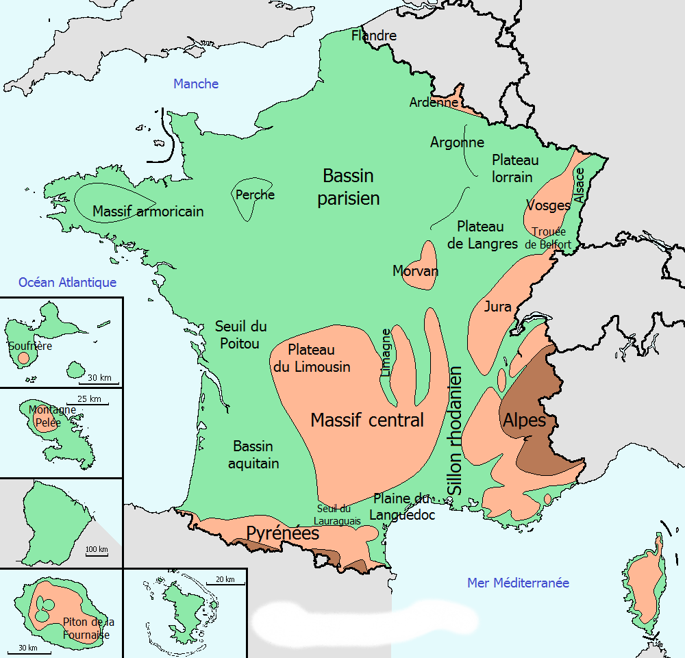 Repere Francais Villes