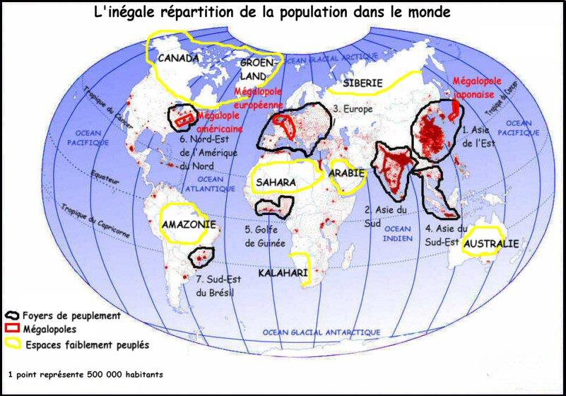 Carte Des Grand Foyer De Peuplement : Cartes brevet à imprimer histographie