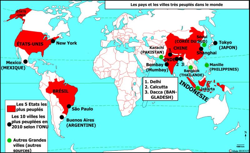 karachi carte du monde