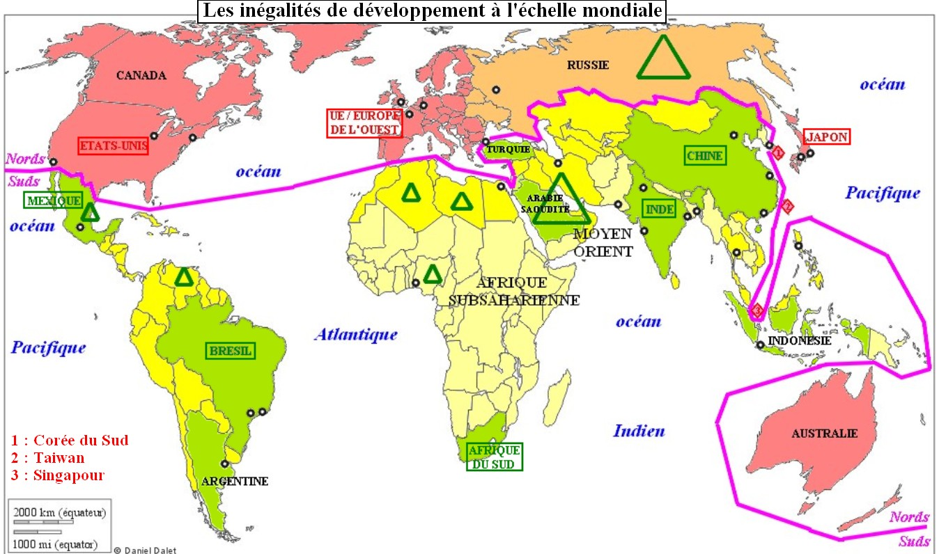 Dissertation sur les ingalits de dveloppement dans le monde